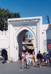 Morocco / Maroc - Tangier / Tanger: Gate of Italy - Grand Socco Square - entrance to the Medina
