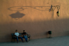 Morocco / Maroc - Marrakesh: sunset under the lamp - photo by J.Banks