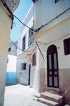 Morocco / Maroc - Tangier / Tanger: façades in the Medina - photo by M.Torres