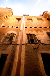 Morocco - Ouarzazate: houses in the casbah - photo by M.Ricci