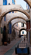 Morocco - Essaouira: arches in the mdeina - photo by M.Ricci