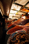 Morocco - Marrakech: Place Djemaa el Fna - dried fruits - photo by M.Ricci