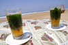 Asilah / Arzila, Morocco - mint tea -Paradise beach - photo by Sandia