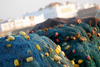 Asilah / Arzila, Morocco - fishing nets - waterfront - photo by Sandia