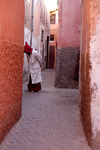 Marrakesh - Morocco: Berber quarter - photo by Sandia