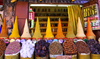 Marrakesh - Morocco: Marakesh market - spices - photo by Sandia