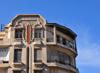Casablanca, Morocco: art deco building - Place des Nation Unies, Blvd d'Anfa - photo by M.Torres