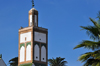 Casablanca, Morocco: minaret of Dar Maghzen mosque - Blvd Sidi Mohammed ben Abdallah - photo by M.Torres