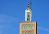 Casablanca, Morocco: minaret of Al-Djemma Mosque - Medina, near Bab Marrakech - photo by M.Torres