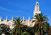 Casablanca, Morocco: Cathédrale du Sacré-Cœur and Ligue Arabe Park - photo by M.Torres