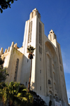Casablanca, Morocco: Cathédrale du Sacré-Cœur - mixture of Gothic and Art Deco styles by architect Paul Tournon - photo by M.Torres