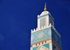 Casablanca, Morocco: Hassan II mosque - minaret and sky - photo by M.Torres