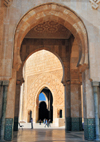 Casablanca, Morocco: Hassan II mosque - arches - photo by M.Torres