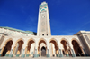 Casablanca, Morocco: Hassan II mosque, built by Bouygues - photo by M.Torres