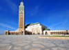 Casablanca, Morocco: Hassan II mosque - architect Michel Pinseau - photo by M.Torres