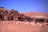 Morocco / Maroc - Ait Benhaddou: walls - fortified city - photo by F.Rigaud