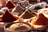 Morocco / Maroc - Ouarzazate: spices at the souk - photo by F.Rigaud
