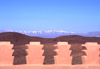 Morocco / Maroc - Ouarzazate: mountains and ramparts - photo by F.Rigaud