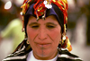 Morocco / Maroc - Imilchil: lady with traditional head-gear - Ait Haddidou tribe (photo by F.Rigaud)