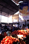 Mozambique / Mo�ambique - Maputo / Louren�o Marques: tomatoes at the central market / tomates no mercado - photo by F.Rigaud