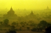 Myanmar / Burma - Bagan / Pagan: stupas at dawn (photo by J.Kaman)