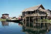 Myanmar / Burma - Inle Lake: house on the water - house on stilts (photo by J.Kaman)