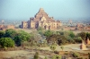 Myanmar / Burma - Bagan / Pagan: ruined temple - Dhammayangyi Pahto temple surrounded by smaller pagodas - Buddhist temples and pagodas (photo by J.Kaman)