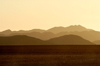 Namibia: Layered Mountains at Dusk, Skeleton Coast - photo by B.Cain