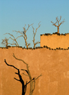 Namibia: Little Kulala Lodge detail near Sossusvlei - photo by B.Cain