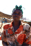Windhoek, Khomas Region, Namibia: Katatura - sales woman - photo by Sandia