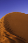 Namib Desert - Sossusvlei, Hardap region, Namibia: sand crescent formed by the wind - photo by Sandia