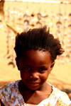 Kunene region, Namibia: Herero girl - Bantu group - photo by Sandia