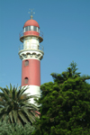Namibia: Swakopmund, Erongo region: the lighthouse - photo by J.Banks