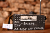 Kunene Region, Namibia: Namibian souvenir - mock Chinese radio - there is a large Chinese minority in Namibia - photo by Sandia