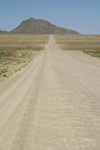 Namibia: heading to the hills - dirt road - photo by J.Banks