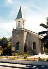 Nauru: the church - photo by G.Frysinger