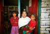 Nepal -  Annapurna region: mother and daughters  (photo by G.Friedman)