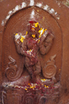 Kathmandu, Nepal: Pashupatinath temple - musical Shiva in stone - photo by W.Allgöwer