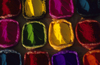 Kathmandu, Nepal: bags with color powders for the lights and colors festival, Tihar - photo by W.Allg�wer