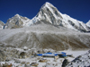 Nepal - Gorak Shep and Pumori peak - Everest Base Camp Trek - photo by M.Samper
