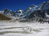 Nepal - Sagarmatha National Park - Everest Base Camp Trek: valley and peaks - photo by M.Samper