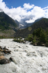 Annapurna region, Nepal: rapids - Kali Gandaki river - photo by M.Wright
