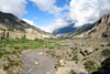 Annapurna region, Nepal: valley of the Kali Gandaki river - photo by M.Wright