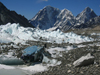 Nepal - Sagarmatha National Park - Everest Base Camp Trek: helicopter wreck - photo by M.Samper