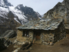 Nepal - Everest Base Camp Trek - Sagarmatha National Park, Solukhumbu district: hut - photo by M.Samper