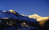 Manang Valley, Annapurna area, Nepal: late afternoon - Annapurna Himal - photo by W.Allgöwer