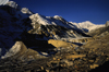 Chame, Manang district, Gandaki Zone, Nepal: the town and Manang valley - photo by W.Allgöwer