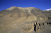 Upper Mustang district, Annapurna area, Dhawalagiri Zone, Nepal: landscape on the Jmosom Trek - photo by W.Allg�wer
