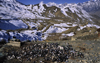 Annapurna area, Nepal: garbage in the Himalayas, Annapurna Himal, nature conservation area - photo by W.Allgöwer
