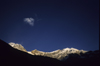 Annapurna area, Myagdi District, Dhawalagiri Zone, Nepal: Tukuche peak and sky, 5920 m - photo by W.Allg�wer